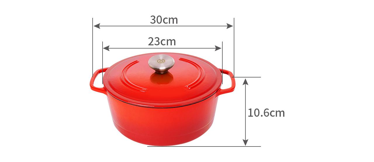 round casserole cr23e